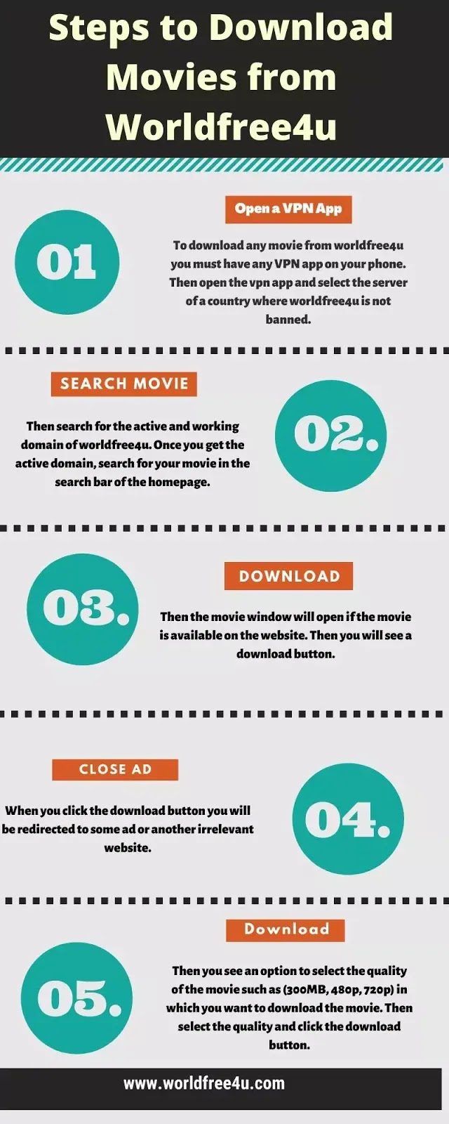 How to download movie from worldfree4u