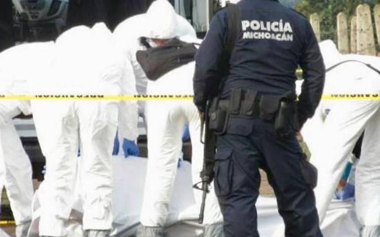 Enfrentamiento entre grupo armado y Policías deja un Sicario muerto en Michoacán