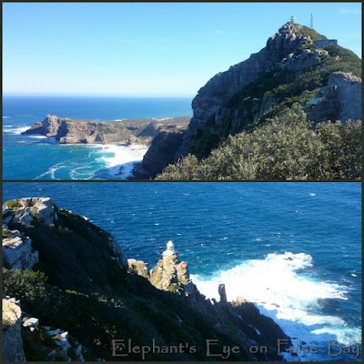 Old and new lighthouses at Cape Point