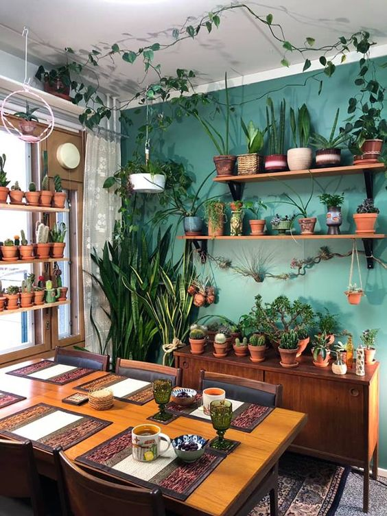 21 Amazing Ways to Decorate With Plants- design addict mom