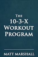 The 10-3-X Workout program Book