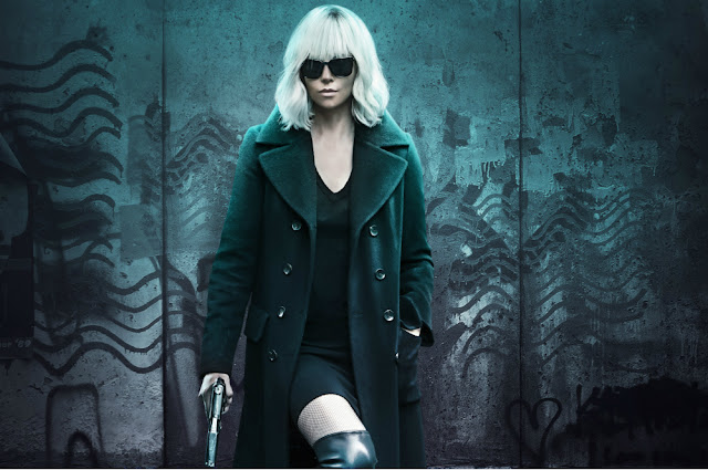 "Charlize Theron is cool as ice in ""Atomic Blonde"""
