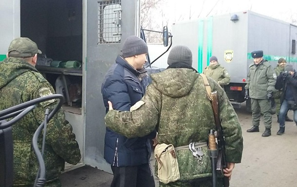 Сепаратисти передали першу групу українців