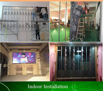 Thiết kế thi công màn hình led p5 chính hãng tại Hóc Môn