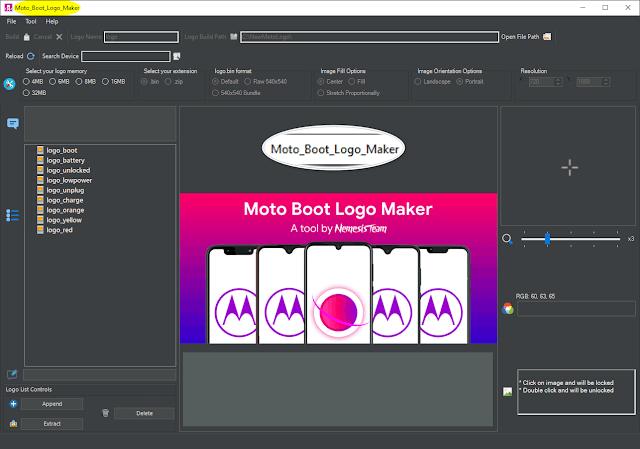 Free Moto Boot Logo Maker v4.4.4.5 [Free Download] Latest Update