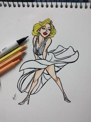 desenhos com marcadores