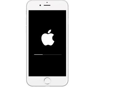 ماهو حل مشكلة توقف أيفون iphone 6S على شعار وشريط أبل Apple