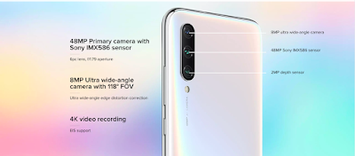 xiaomi mi a3 smartphone specifications