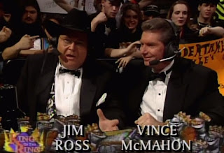 WWE / WWF - King of the Ring 1997 - Jim Ross & Vince McMahon