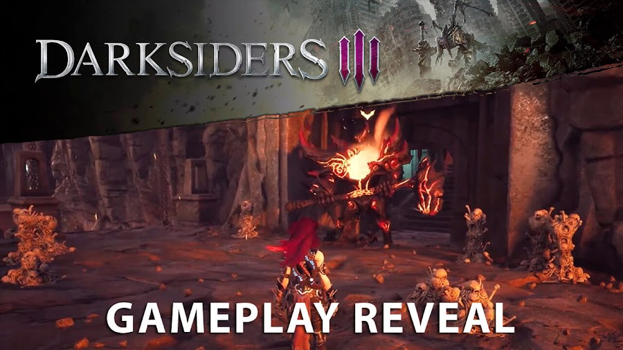 darksiders 3 gameplay pc