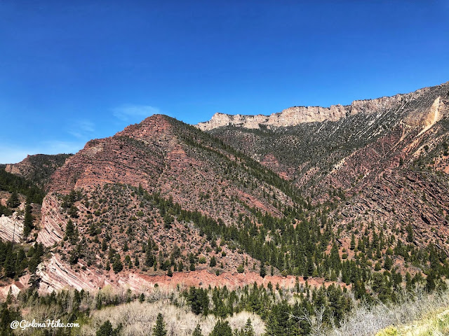 Camping & Exploring at Flaming Gorge National Rec Area, Sheep Creek canyon geological scenic drive