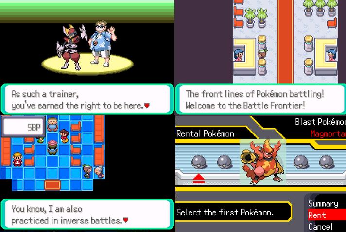Pokemon Frontier Adventure GBA ROM
