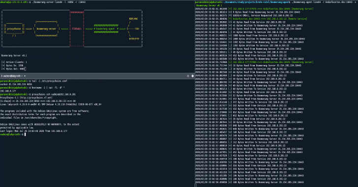 Boomerang : A Tool To Expose Multiple Internal Servers To Web/Cloud