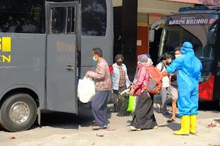 Hari Ini Pemindahan 51 Warga Positif Covid-19 di Klaten Akan Jalani Isolasi Terpusat di Donohudan