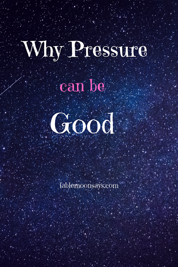 New Facts about Why Pressure Can be Good