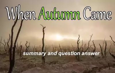 When autumn came summary