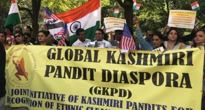 International coordinator of Global Kashmiri Pandit Diaspora