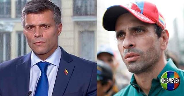Leopoldo López intenta desenmascarar a Henrique Capriles Radonski