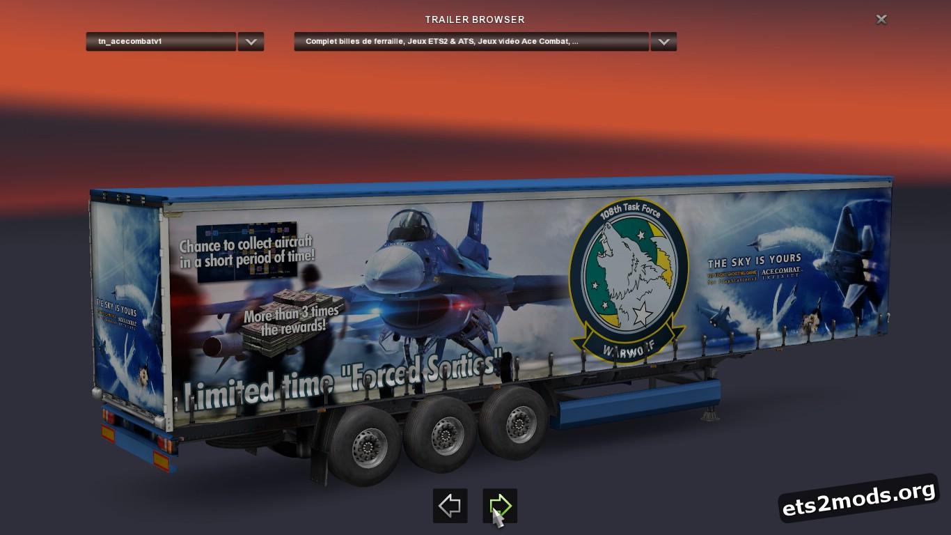 Ace Combat Mix Krone Trailer V 1.1