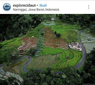Naringgul, termasuk 7 cluster wisata di Cianjur