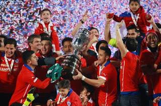 Chile Juara Copa America 2016