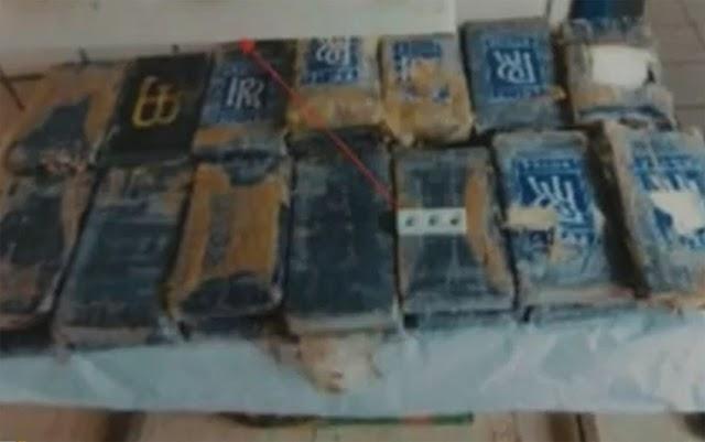 Pacotes com pasta base de cocaína são encontrados em praia