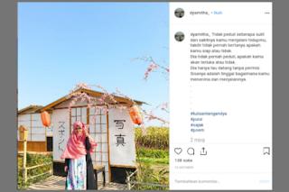 Ada Isyarat 'Kematian' di Status Instagram Terakhir Mitha, Korban Hanyut Air Terjun
