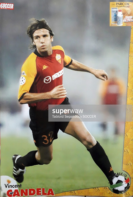 POSTER VINCENT CANDELA (AS ROMA)