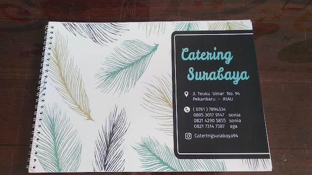 Buku Menu Catering