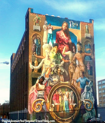 COMMON THREADS Street Art Wall Mural in Philadelphia Pennsylvania