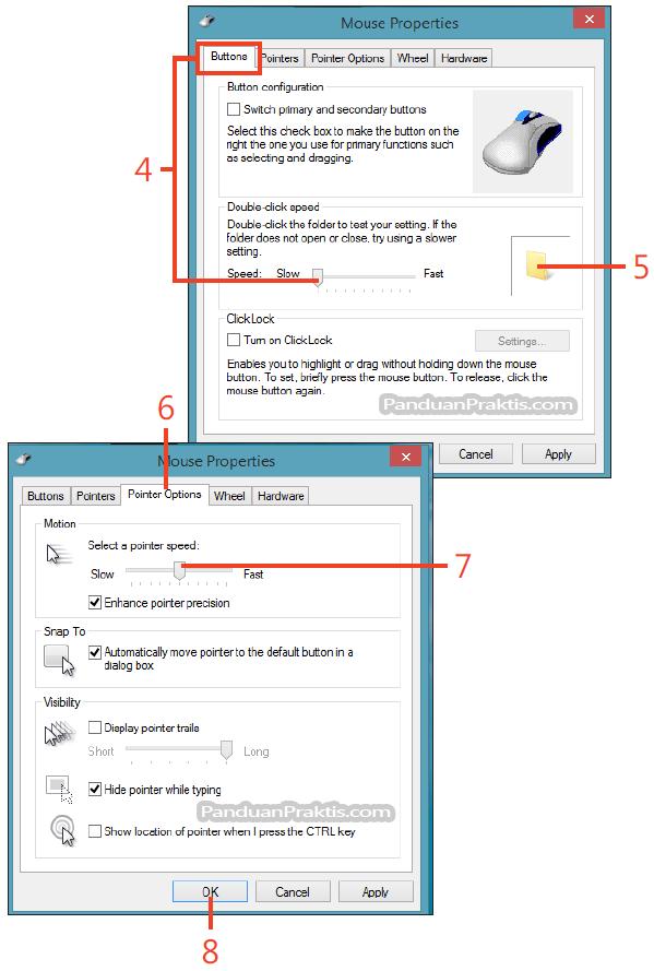 Cara Mengatasi Mouse Double Klik : mengatasi, mouse, double, Mengatur, Kecepatan, Klik-Dua-Kali, (Double-Click), Pointer, Mouse, Windows
