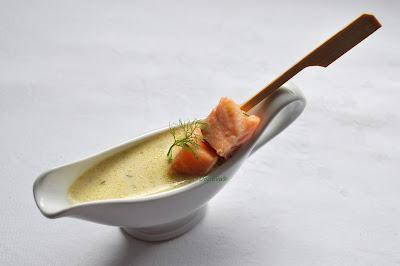 Lachssuppe