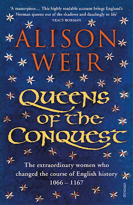 Queens of the Conquest by Alison Weir book cover