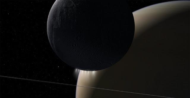 sound of electromagnetic energy moving between saturn enceladus
