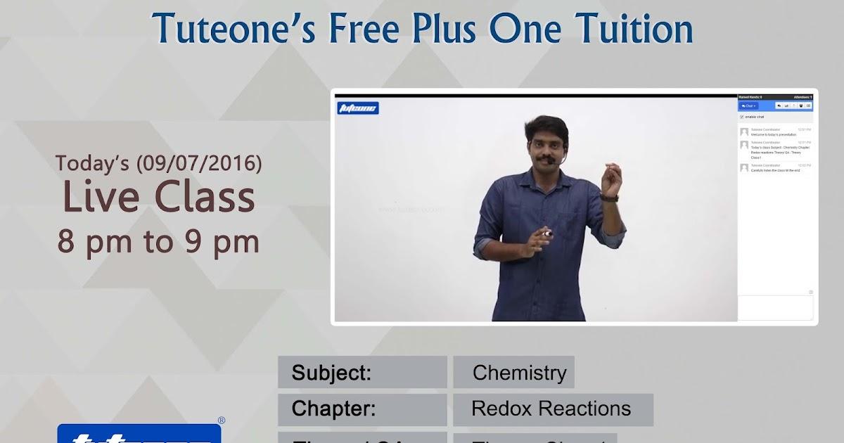 TUTEONE: Tuteone's Free plus one tuition