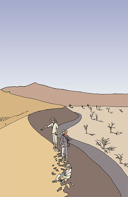 dessin muriel logist, passeport santé 2009