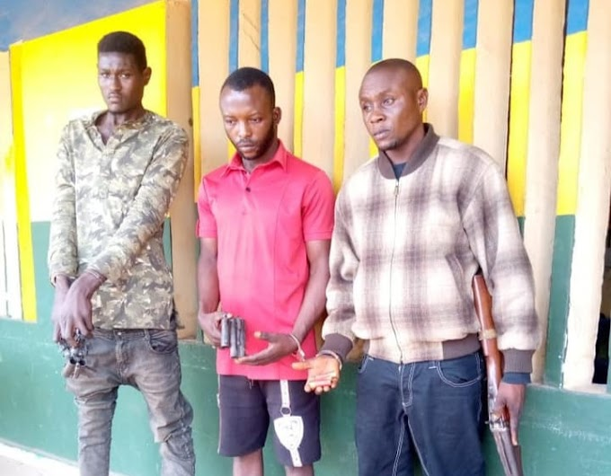 Police Arrest Three Suspected Cultists, Armed Robbers In Delta