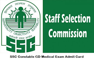 Tags - SSC Constable GD Medical Exam Admit Card 2020, ssc notification, ssc notification 2021, ssc recruitment 2020 ,ssc notification 2020-21