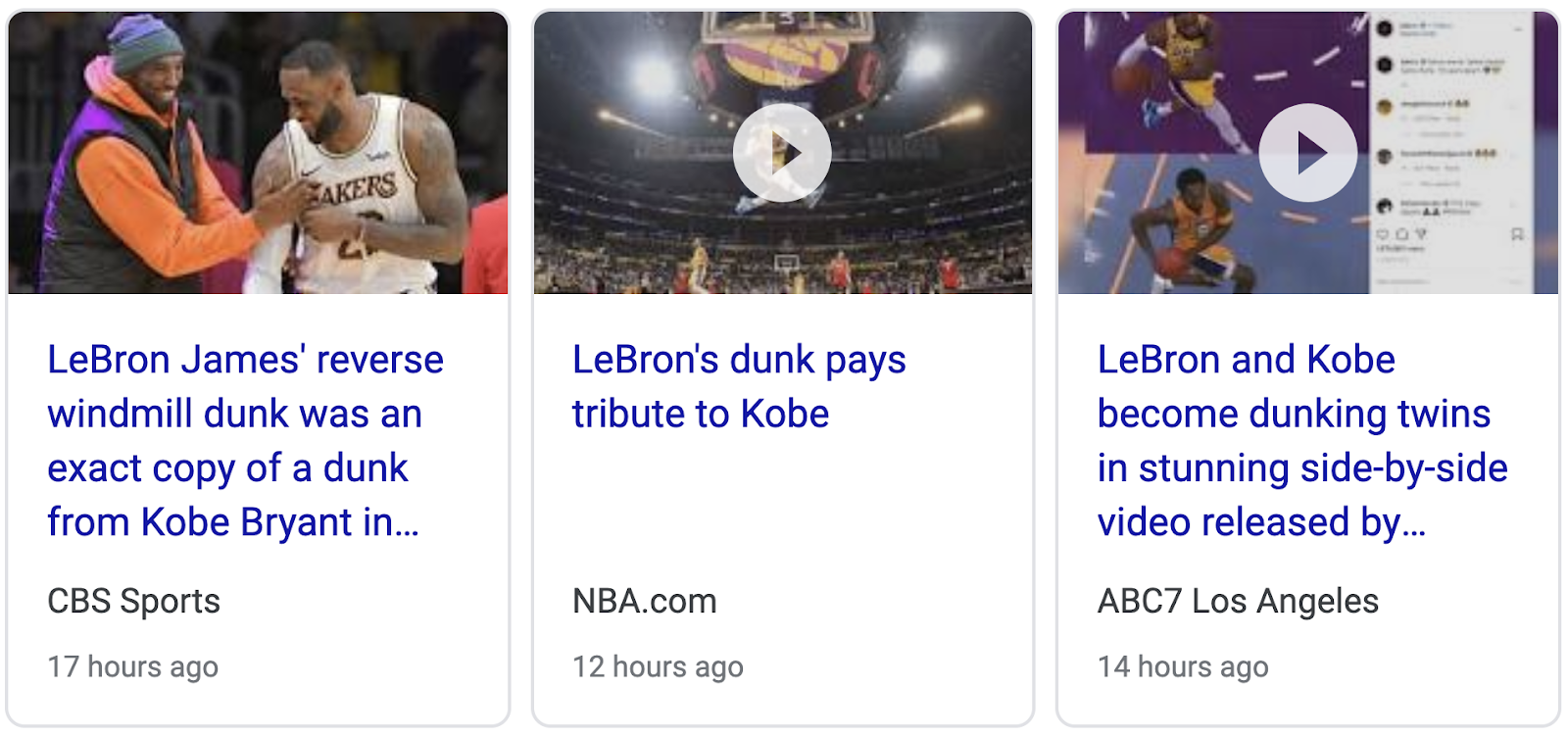 Lebron James Pays Tribute To Kobe Bryant With Mirrored Dunk February 6 2020 Gematria Effect News