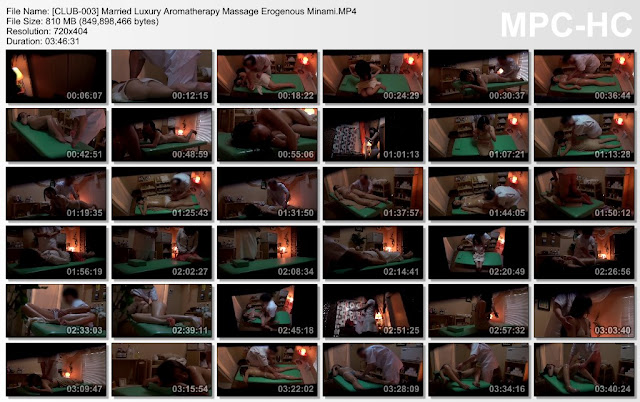 [CLUB-003] Married Luxury Aromatherapy Massage Erogenous Minami