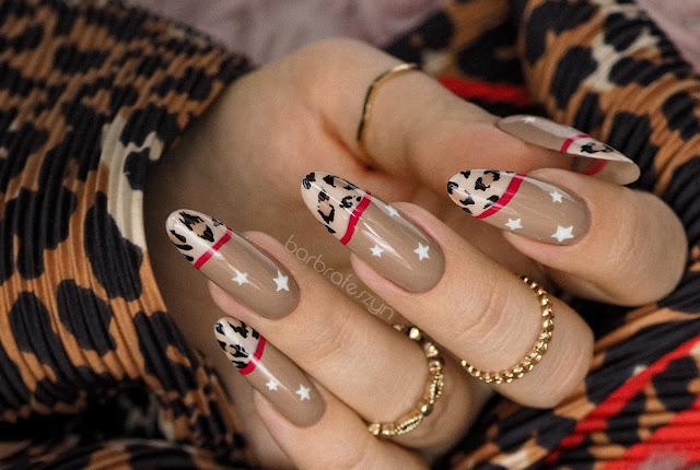 Animal print nails | Pierre Rene