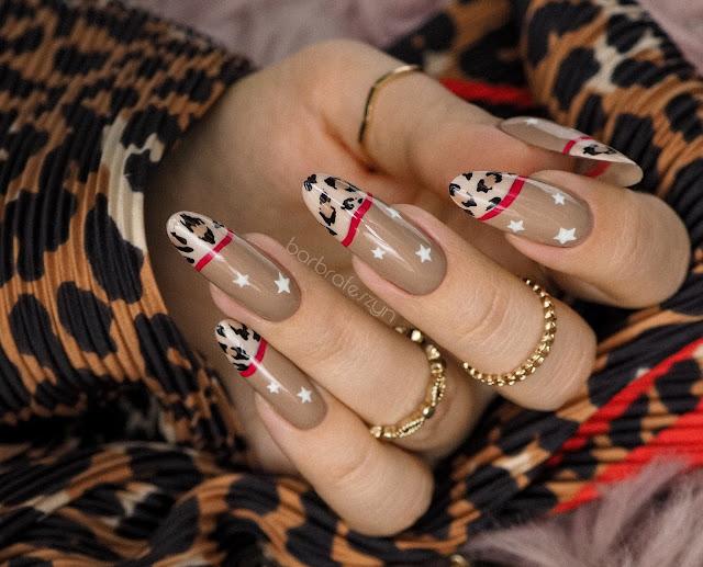 panterkowe paznokcie