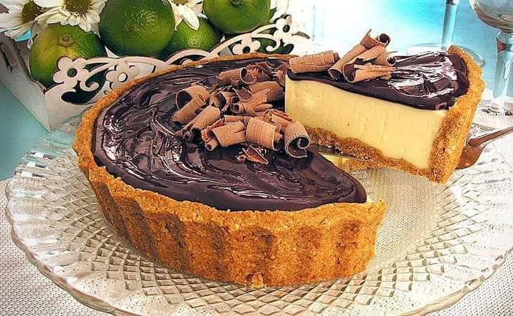 Torta de Limão e Ganache