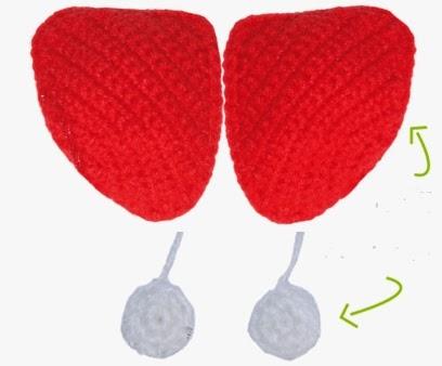 Tığ işi Uğurböceği Modeli Resimli Anlatım