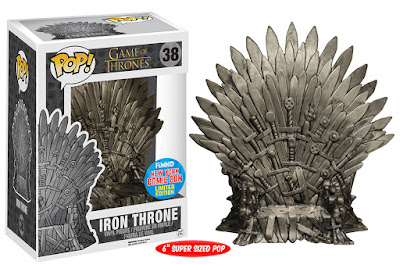 New York Comic Con 2015 Exclusive Game of Thrones Iron Throne Pop! Vinyl Figure by Funko