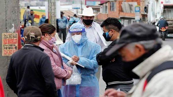 Colombia rebasa los 100.000 contagios por la Covid-19