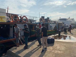 Belum Normal,  Jumlah Penumpang  dari Kali Adem ke Kepulauan Seribu  Saat  PSBB Transisi