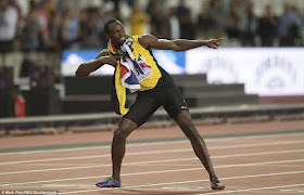 B3 Justin Gatlin Defeats Usain Bolt To Become New World Champion In 100m Sport