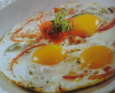 Cara Membuat Telur Mata Sapi Spesial