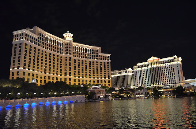 Bellagio e Caesars Palace.